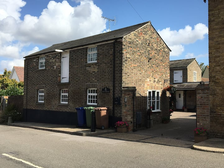 Grade 2 listed property in pretty village.