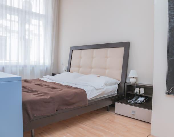 Ein privates Hotelzimmer im Herzen von Wien