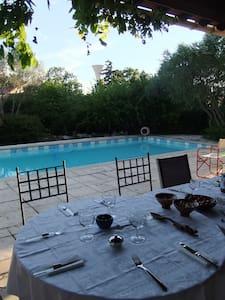 Jolie villa avec jardin et piscine - Canet