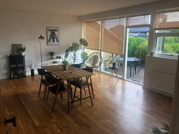 Rækkehus i Odense SV -Sanderum