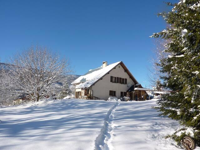 Gorges du Bruyant - Saint-Nizier-du-Moucherotte - Casa