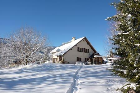 Gorges du Bruyant - Saint-Nizier-du-Moucherotte - House