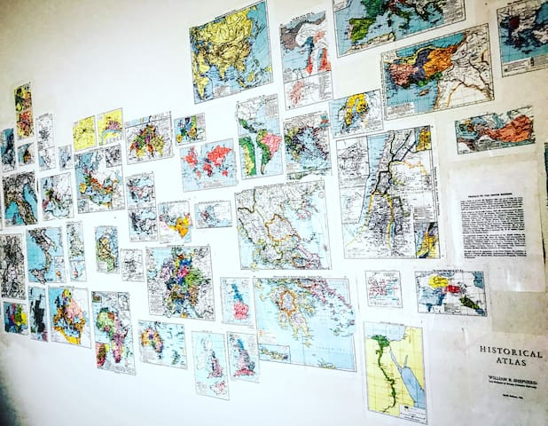 The main map wall of the Map Suite.