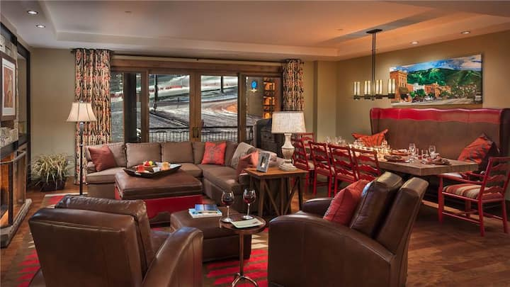 """One Steamboat Place: """"Deer Mountain"""" #204 4BR Slopeside Luxury"""