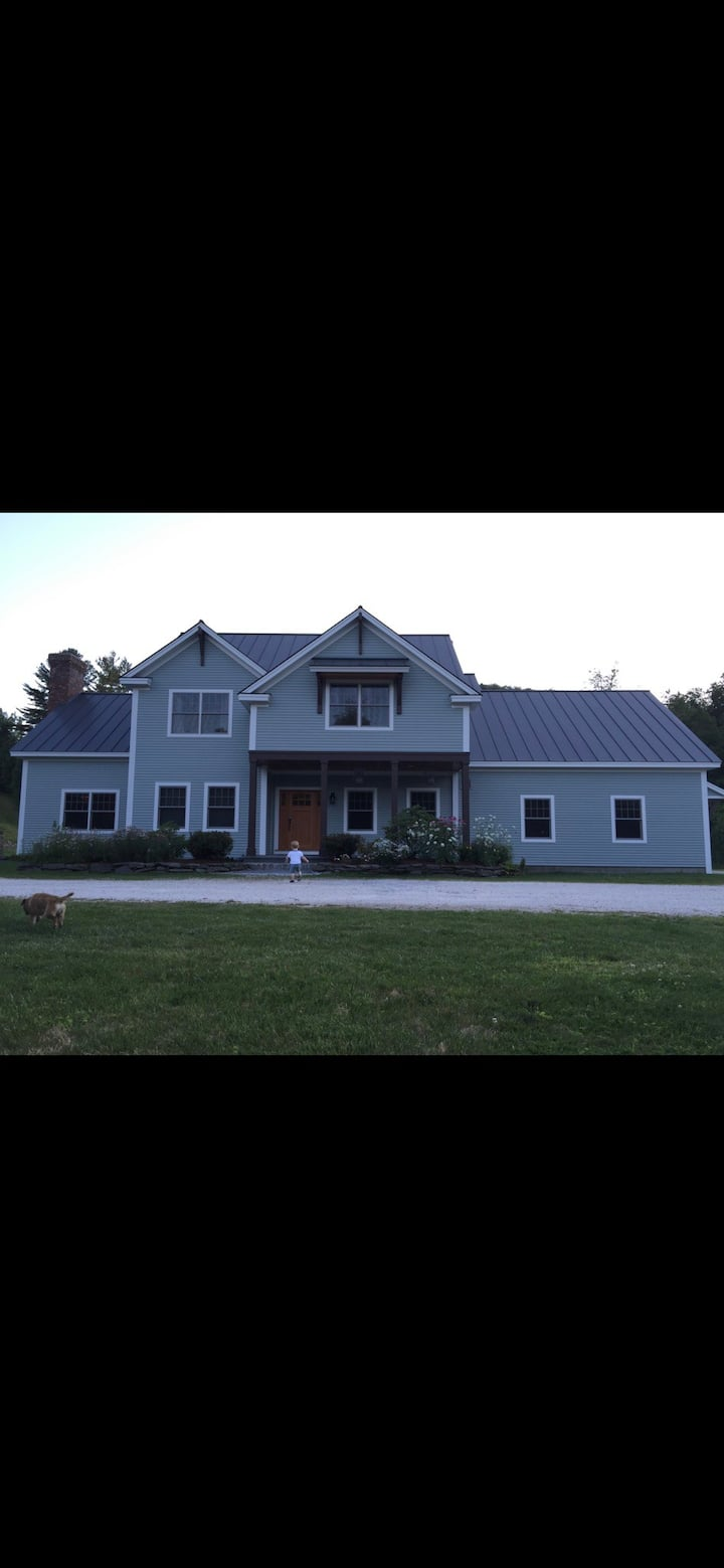 12 acre ski home Luxury Killington Family Ski Haus