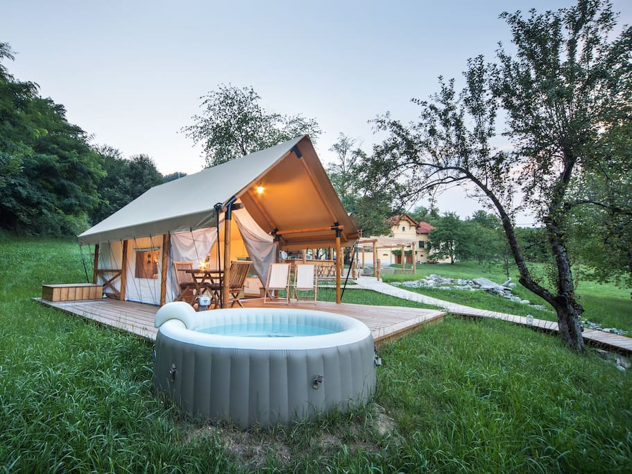 Enjoy in special experience of glamping