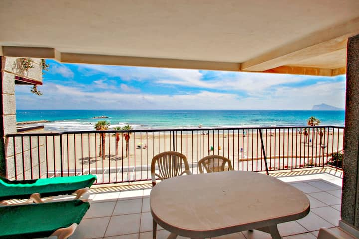 Ines-3 - oceanfront apartment in Calpe