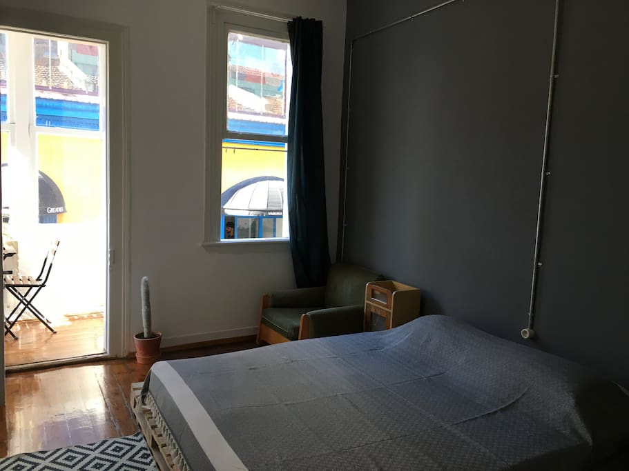the Room with Shared Balcony