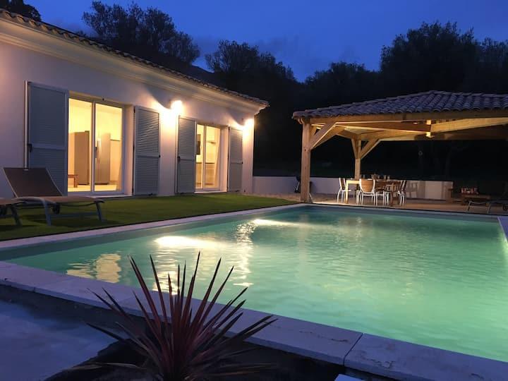 Domaine Vermentinu Villa tout confort avec piscine