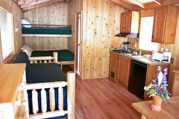 Deluxe Cabin at Loon Lake Lodge