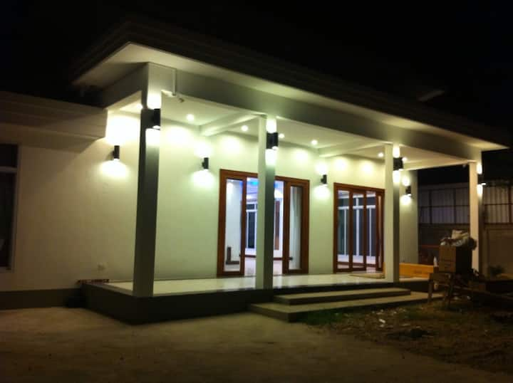 Embassy residence area for family of 5