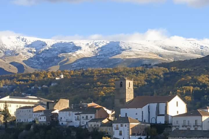 Cerca de la Estación de Esquí La Covatilla.