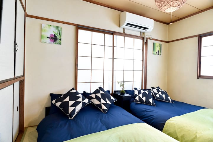 【Weekly】Shibuya 5 min apt. for 4 pax! FREE WIFI#22