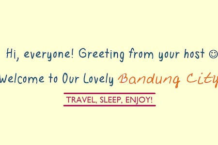 Travel, Sleep, Enjoy! (Private Apartment) - Buahbatu