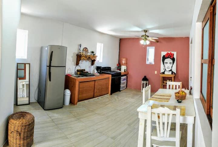 Cozy-spacious apartment in the main area of Tulum!