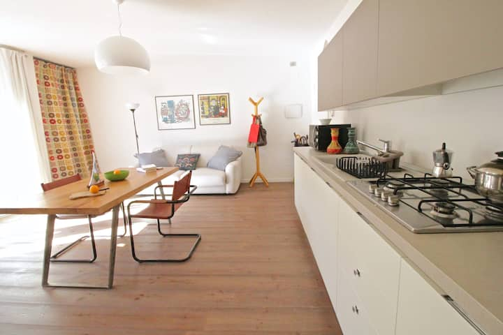 Charming apartment in Riva del Garda with parking