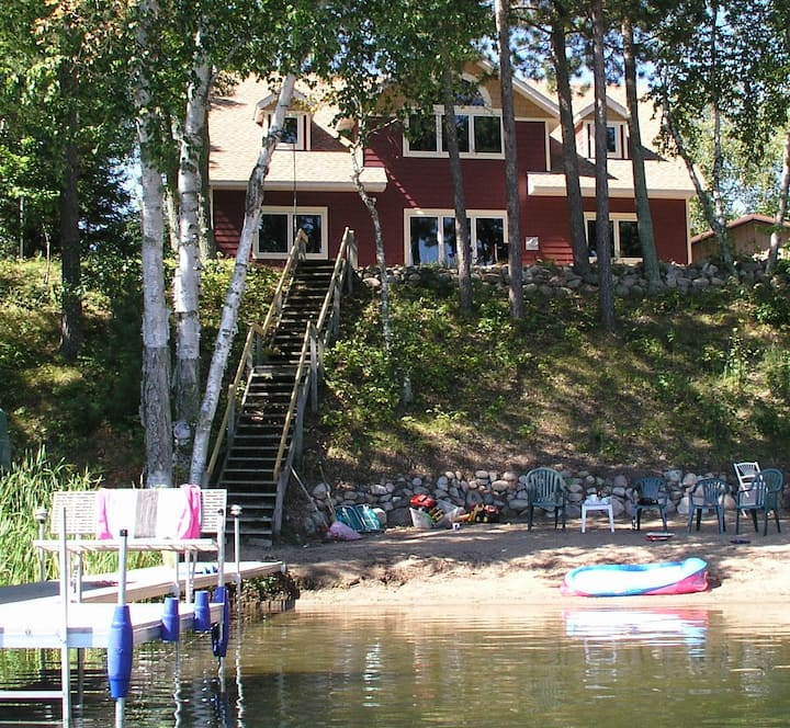*High Demand* Crosslake Cabin on the Lake!