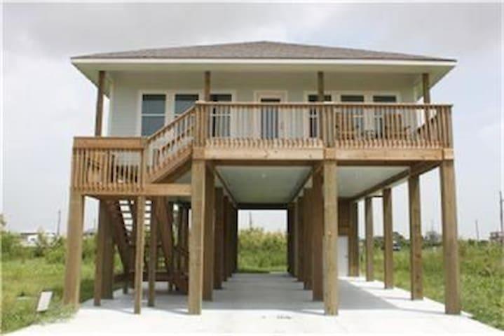 The Beach House - Bolivar Peninsula - Hus