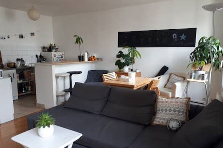 Nice and quiet room in a shared flat at Republique
