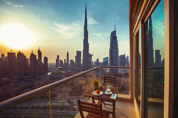 Luxury 2 Bed with Fountain and Burj Khalifa View