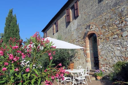 Acasa: a house for 10 in Tuscany's heart with pool - Volterra
