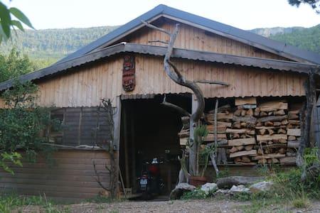 maison au naturel-lieu insolite-dépaysement assuré - Beaumont-en-Diois - Loft-asunto