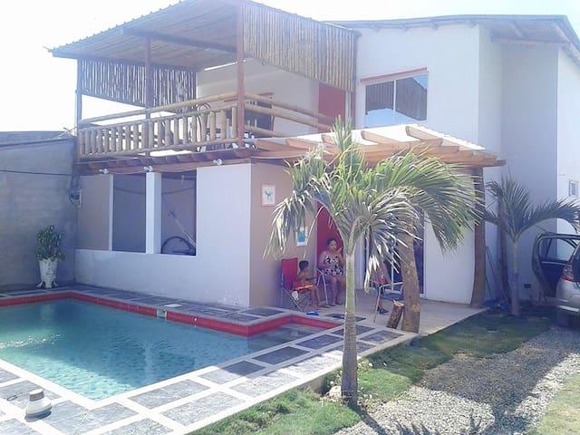 Casa de playa en crucita beach - Crucita