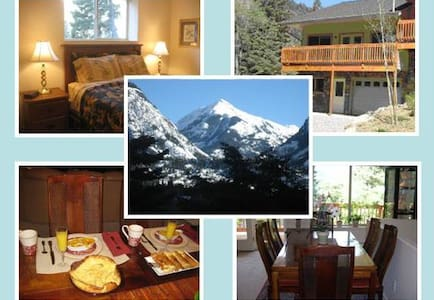Bridal Veil Bed & Breakfast - Ouray - 家庭式旅館