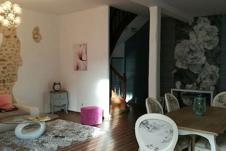 Maison des Anges Bed & Breakfast - Civray - Rivitalo