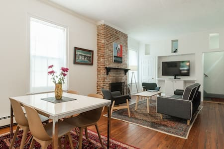 Mearns House: A Beautiful Mt. Airy Carriage House