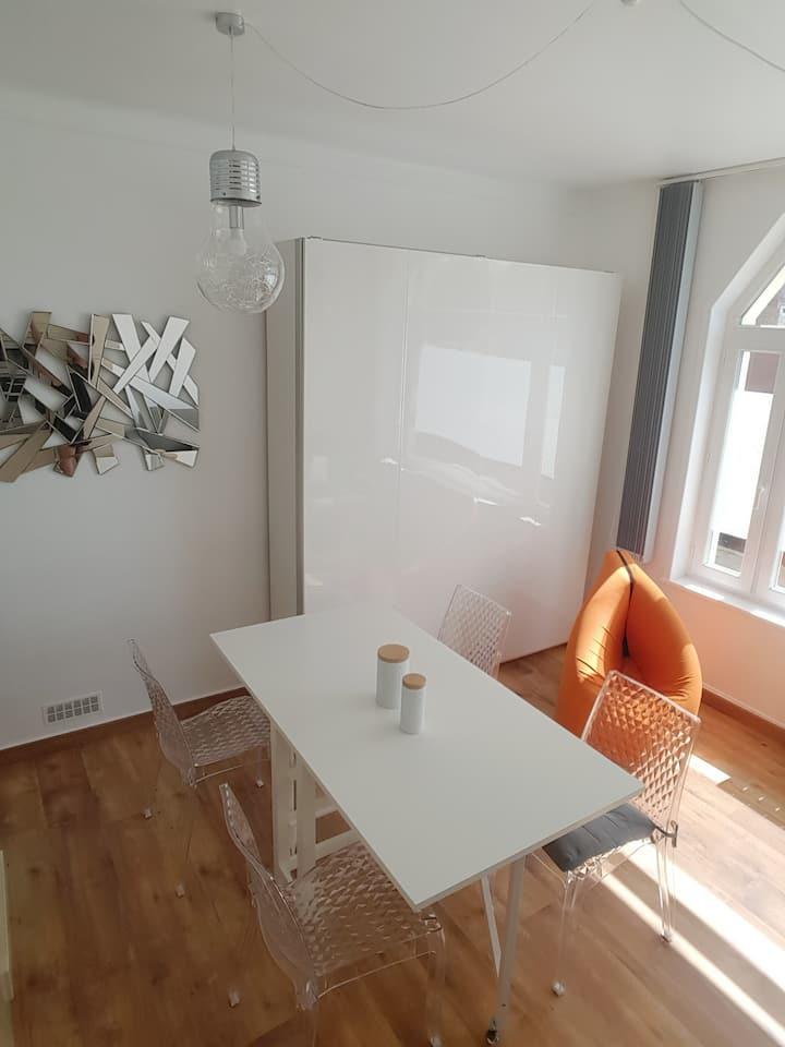 Appartement 4 personnes, 5 minutes mer et centre
