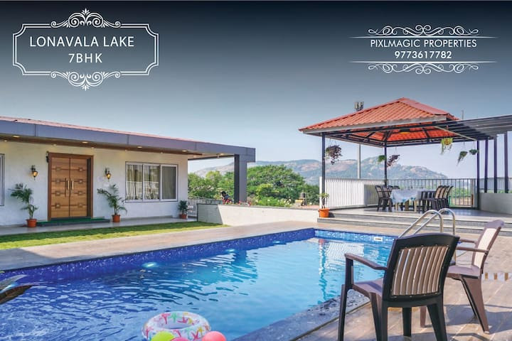 LONAVALA  LAKE VIEW VILLA  AVAILABLE ON RENT