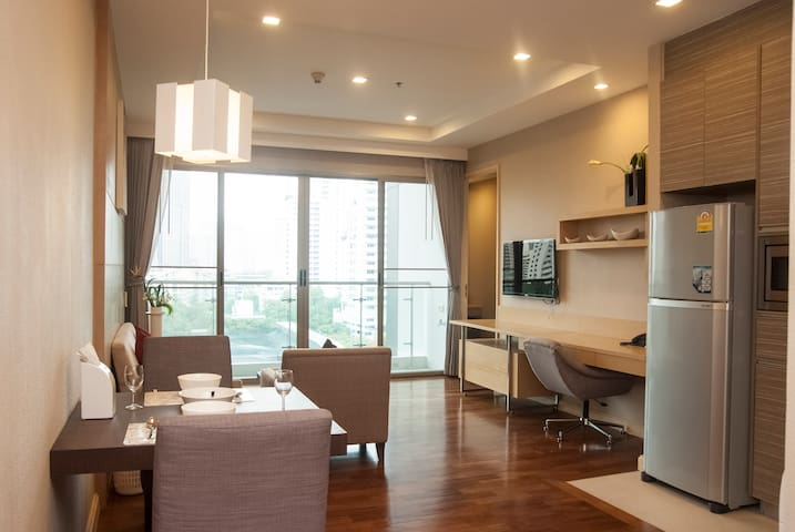 Panoramic City View 1 Bedroom Apartment - Asoke