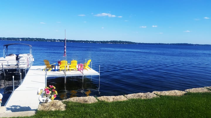 Lake Monona Retreat. Your Home Away From Home.