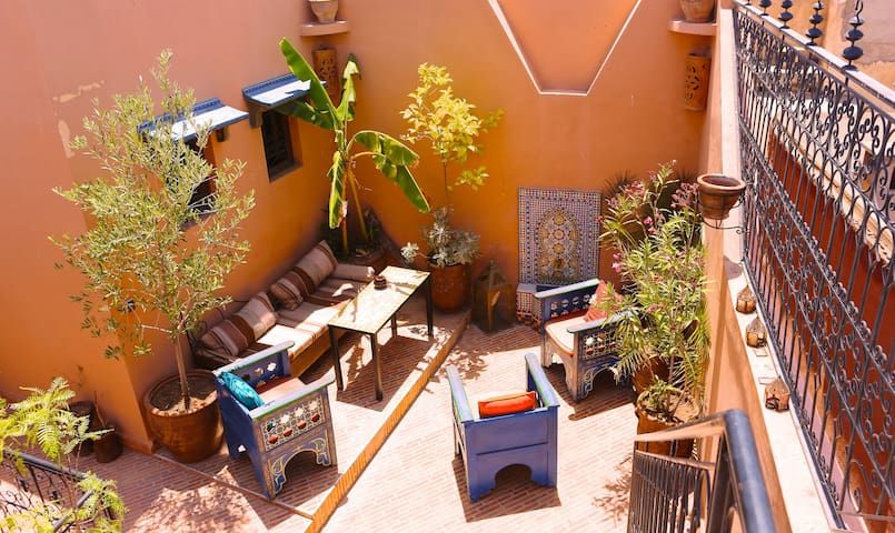 Top location! Cool double room - Marrakech - Casa