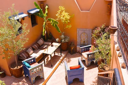 Top location! Cool double room - Marrakesh - Dům