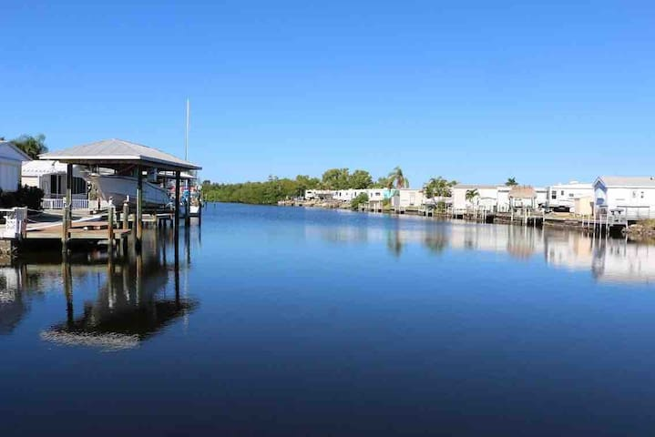 Pine Island St James City, FL Waterfront Home