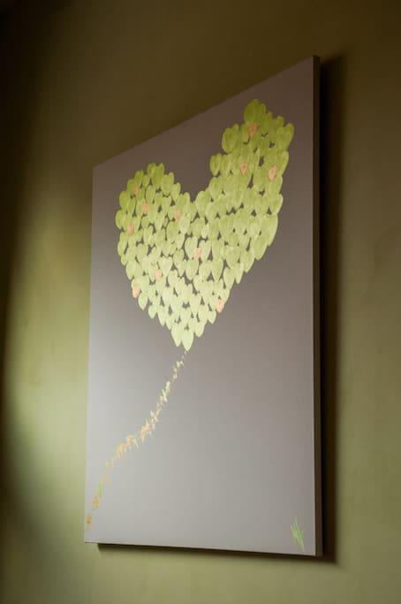 chambre 401 tableau de Mirella Chappuis