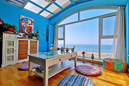 金沙滩一线海景房摩洛哥风情之卡萨布兰卡 出门漫步万米金沙滩南依园林天然氧吧