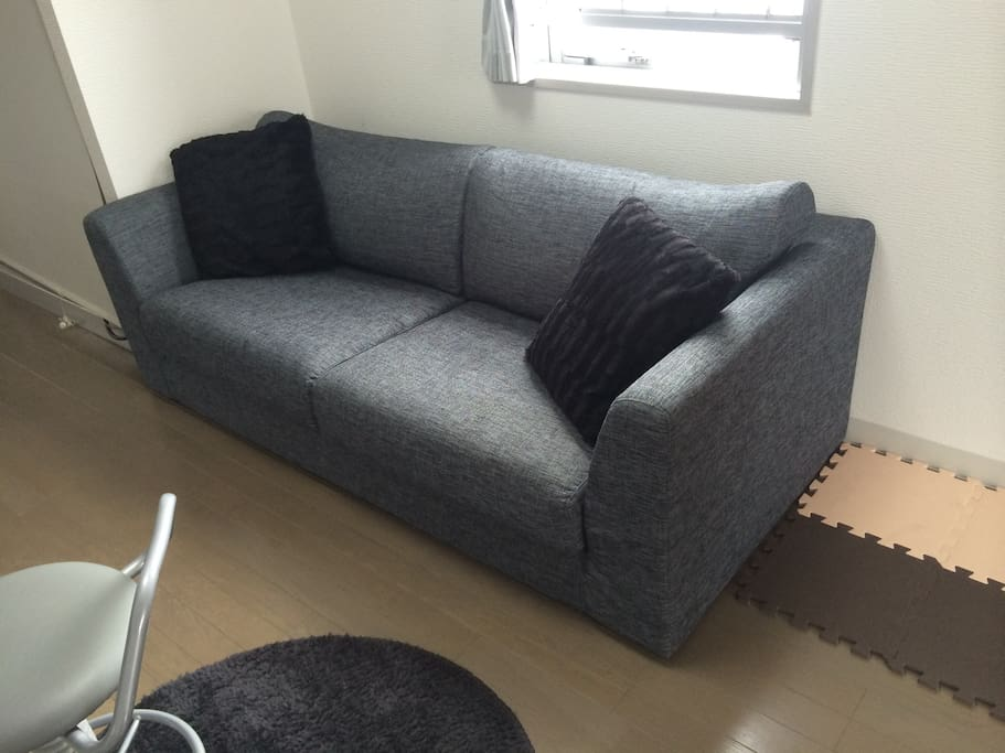 Comfy sofa to relax!