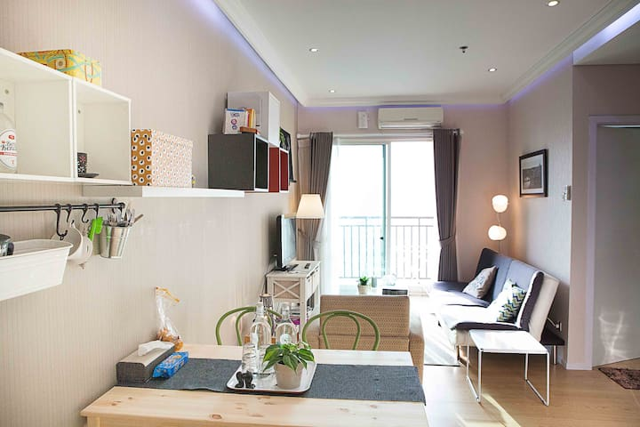 Best location Downtown Flat, unlimited wifi. - Centralna Dżakarta - Apartament