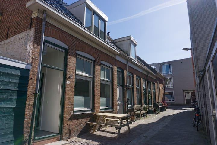charmant gerenoveerd schippershuis - Groningen - Rumah