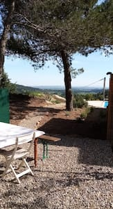 Mobilhome avec piscine dans le sud de la France