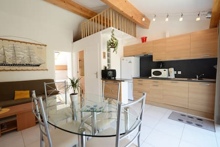 BEAUTIFUL CONTEMPORARY P2 36m2 TERR - La Grande-Motte - 公寓