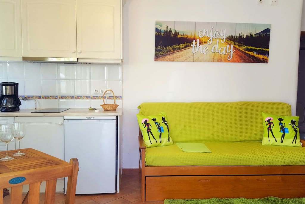 Beautiful and cozy studio in the city center, ideal for couples or solo travelers