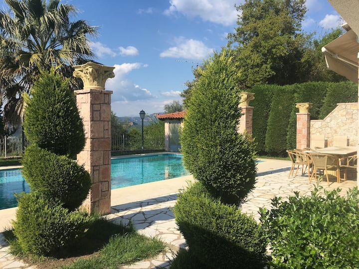 Secluded Sterile Villa in Ancient Olympia 8 people