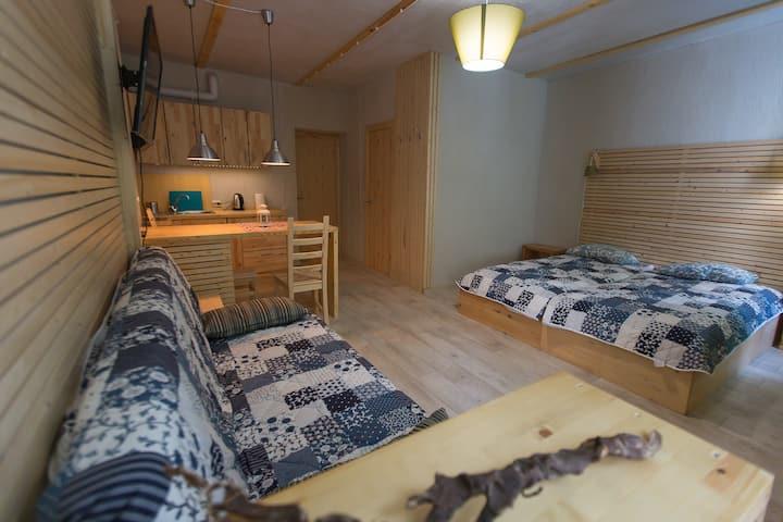 Апартаменты для 4 - 6 (до 8) человек.