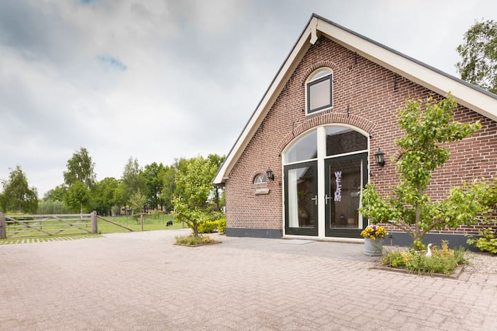 The 'Heuvelrug' Room,sfeervol !! - Leersum - Bed & Breakfast