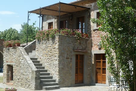Case Sant'Anna 14 beds - Cortona