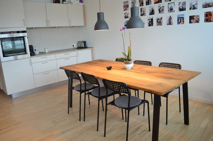Lovely family friendly 110 m2 apartment! - Nærum - Pis